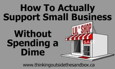 Small Business Saturday is coming. Here is how you can support small businesses! #smallbusiness #sms #wahm