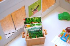 doll miniature play books - livres miniatures pour poupées