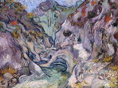 Vincent van Gogh, Ravine (1889). Boston, Museum of Fine Arts.