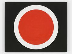 ALEXANDER LIBERMAN Black and Red Circle