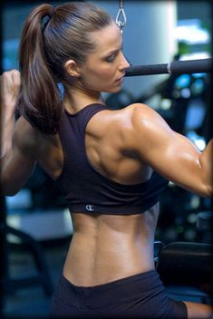 Great back! #fitness #workout