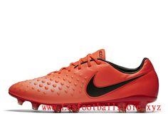 1bf3c2544a13 Nike Magista Opus II Chaussure de football à crampons pour terrain sec pour  Homme Orange Noir
