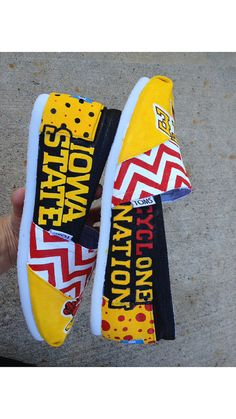 Custom TOMS Iowa State Cyclones Purchase by mckenziegrimm