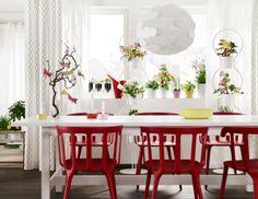 Kahvaltı ederken '' Konforumdan ödün veremem '' diyorsanız, yıllarca kullanabileceğiniz çeşit çeşit yemek masaları IKEA' da!