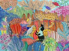 psychedelic paintings - Google Search