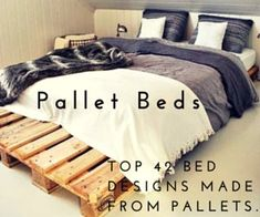 If you are having an easily reachable source of pallets are ready to do pallet projects, then checkout these 125 DIY pallet furniture ideas that are all about..