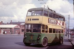 Wolverhampton, passed thru many times in the n and remember how dirty and neglected the Trolleys used to look ! and the buses too apart from Midland Red Vintage Trucks, Old Trucks, Tramway, Old Commercials, Double Decker Bus, Bus Coach, London Bus, Ex Machina, Wolverhampton