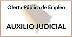Listado tests OPE Auxilio Judicial. #oposiciones