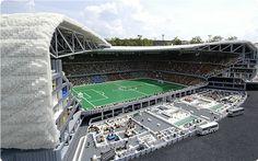 LEGO Allianz Arena - 5x4,5m, 1m hoch, 1,5 Tonnen Gewicht...
