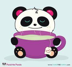 Panda Panda Love, Red Panda, Cute Panda, Panda Panda, Panda Bears, Cartoon Panda, Cartoon Memes, Cartoons, Panda Drawing