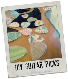 DIY Guitar Picks – Etcetorize