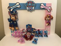 Ideas For Party Decorations Boy Paw Patrol Girl Paw Patrol Party, Paw Patrol Birthday Girl, Twin Birthday Parties, Fourth Birthday, Birthday Ideas, Paw Patrol Birthday Decorations, Paw Patrol Invitations, Caleb, Dj Party