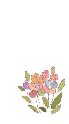 [일러스트 배경화면] 색연필 느낌 튤립 배경화면 : 네이버 블로그 Flower Illustration Pattern, Illustration Blume, Illustration Sketches, Cartoon Illustrations, Flower Phone Wallpaper, Heart Wallpaper, Love Wallpaper, Iphone Wallpaper, Cool Backgrounds