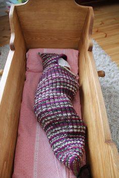 Toukkapussi/villakapalo - wool swaddling
