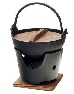 和食器の和心: 新・ふる里コンロセット※コンロ・火皿・敷板付・他 - 陶板・鉄鍋
