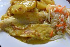 Ψάρι στον φούρνο με πορτοκάλι - μουστάρδα !!! ~ ΜΑΓΕΙΡΙΚΗ ΚΑΙ ΣΥΝΤΑΓΕΣ Fish, Chicken, Meat, Pisces, Cubs