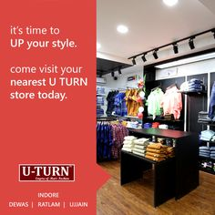 Up your #style with the empire of men's fashion U TURN.