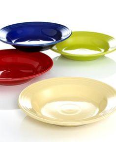 Fiesta Rim Soup Bowl Collection - Dinnerware - Dining & Entertaining - Macy's