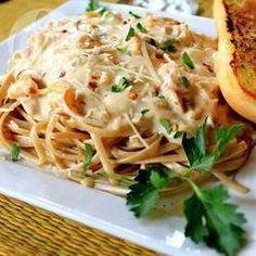 Photo de recette : Linguine crémeux, sauce aux palourdes