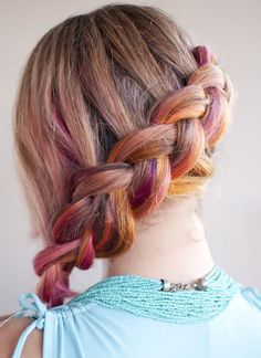 Free tutorial with pictures on how to style a side braid in under 5 minutes by hairstyling with brush and hair elastic. How To posted by Hair Romance. Side Braid Hairstyles, Braided Hairstyles Tutorials, 2015 Hairstyles, Spring Hairstyles, Halloween Hairstyles, Braid Tutorials, Updo Hairstyle, Unique Hairstyles, Hairstyle Ideas