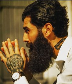 Beard Styles For Men, Epic Beard, Awesome Beards, Men's Hairstyles, Haircuts For Men, Bearded Men, Pipes, Style Icons, Facial