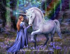 Anne Stokes, Thomas Kinkade, Wood Canvas, Canvas Wall Art, Mystical Animals, Unicorn Wall Art, Calla, Wall Clock Design, Canvas Art