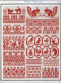 Belorussian and Ukrainian embroidery