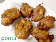 ネギ味噌の天ぷら