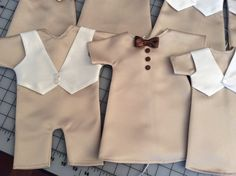 Angel Gowns for boys, sewn by the Fort Wayne Chapter of the American Sewing Guild