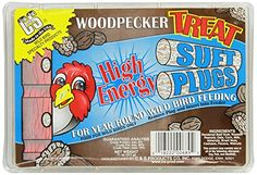 C  S Products Woodpecker Treat Suet Plug Pack of 12 *** You can get additional details at the image link. Note: It's an affiliate link to Amazon.
