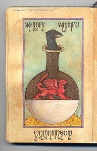Alchemy Notebook: Crow by Ninth Wave Designs  door Ninth Wave Designs    flickr.com