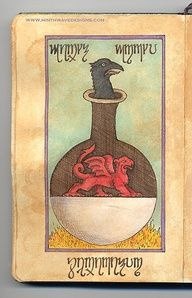 Alchemy Notebook: Crow by Ninth Wave Designs