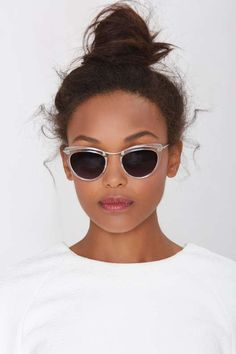 Let's Be Clear Cat-Eye Shades - Accessories