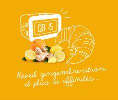 Réveil gingembre-citron, et plus si affinités ;-)