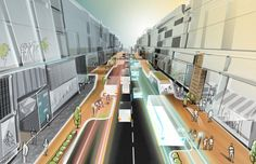 Self-Driving Cars Could Revolutionize Our Sidewalks, Too | Co.Design | business + design
