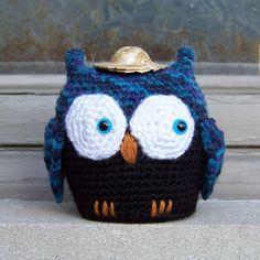 Retro the Owl Amigurumi by Else Tennessen