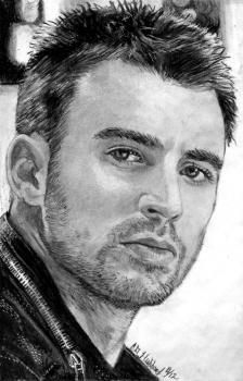 How to Draw Chris Evans, Step by Step, Portraits, People, FREE Online Drawing Tutorial
