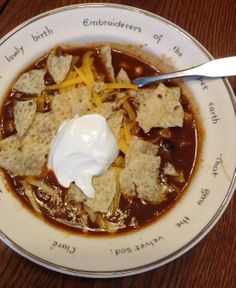 Love, Laura Lee: taco soup