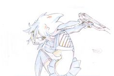 artbooksnat:  Kill la Kill key animation sequence for the fight in the first episode.