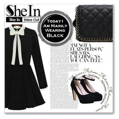 """""""SheIn #4"""" by selmagorath ❤ liked on Polyvore featuring moda e vintage"""