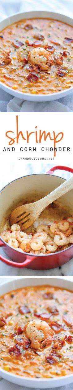 Shrimp and Corn Chowder recipe