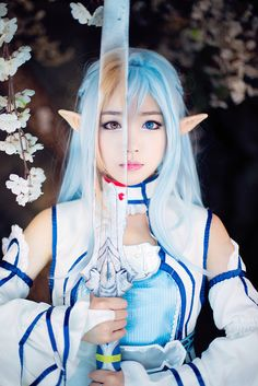 I don't normally pin cosplay but this is an exception. Asuna | Sword Art Online #cosplay #anime