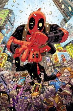 Deadpool by TONY MOORE.
