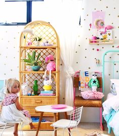 toddlers girls bedroom ideas - read about some of my favourite low cost ways to style a kids room on a budget | children's bedrooms