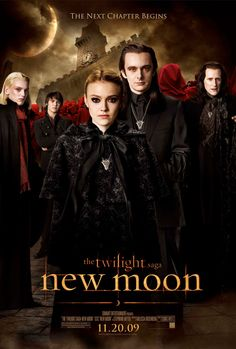 The Twilight Saga: New Moon posters for sale online. Buy The Twilight Saga: New Moon movie posters from Movie Poster Shop. We're your movie poster source for new releases and vintage movie posters. Saga Twilight, Twilight Poster, Vampire Twilight, Twilight Cast, Vampire Love, Twilight New Moon, Twilight Movie, Michael Sheen, Brazil Movie