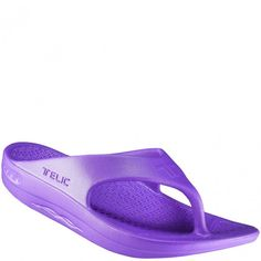 9dcc0555f4ea5b Telic Men s and Women s Flip Flops - Grape Vine