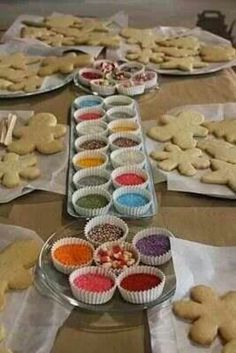 Decorate gingerbread man for end of year party