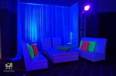 Black light party. Great for Bar/Bat Mitzvahs and Sweet 16's