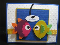 Stampin' Up!  Ornament Punch  Priscilla Ivler  Fish