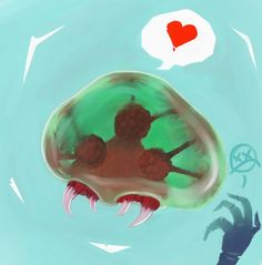 Metroid loves you